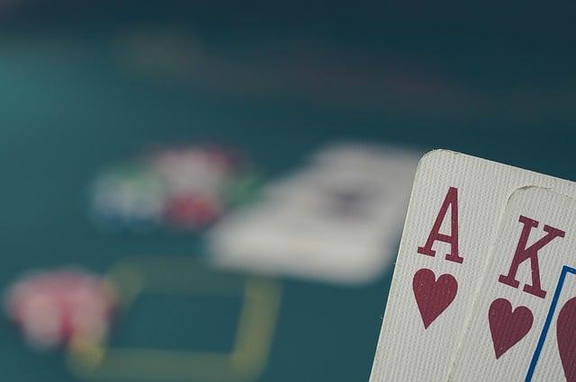 AK au poker