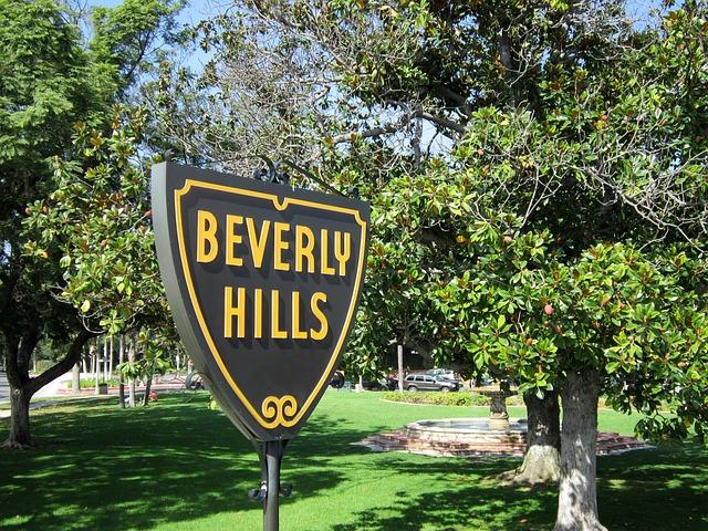 panneau beverly hills
