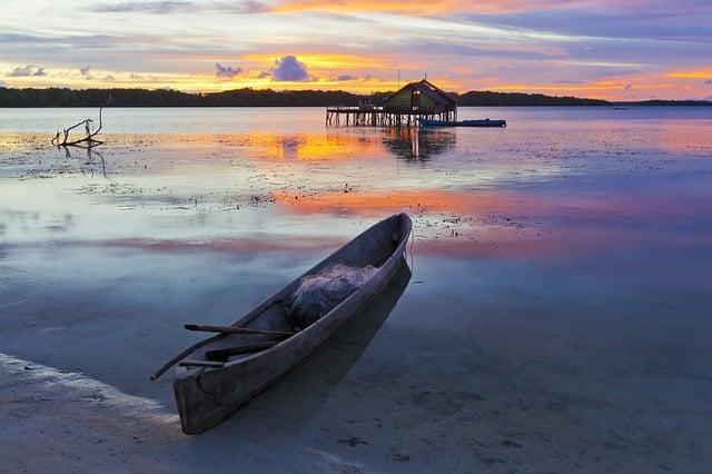 canoe de peche