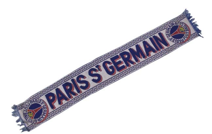 echarpe blanche du paris saint germain