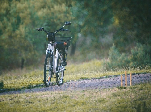 vélo electrique posé