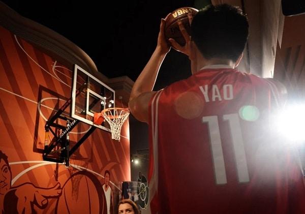 Yao Ming, un des joueurs les plus grands de l'histoire de la NBA, a pourtant souffert de la détente de Nate Robinson.